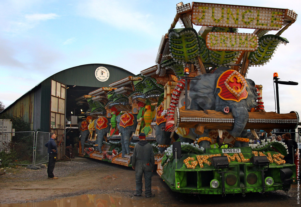 Enthusiasts Unveil Their Carts In Bridgewater Ahead Of The World's Largest Illuminated Carnival