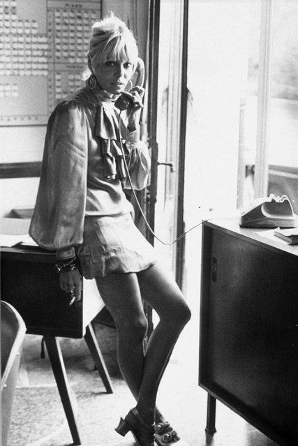 Italian-born German actress Anita Pallenberg, 1960s. (Photo by Dezo Hoffmann/Rex Features/Shutterstock)