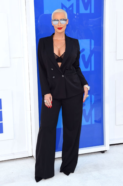 Amber Rose attends the 2016 MTV Video Music Awards at Madison Square Garden on August 28, 2016 in New York City. (Photo by Jamie McCarthy/Getty Images)