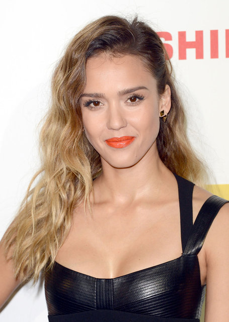 Jessica Alba attends the Spike TV's 10th Annual Video Game Awards at Sony Studios on December 7, 2012 in Los Angeles, California. (Photo by J. B. Lacroix/WireImage)
