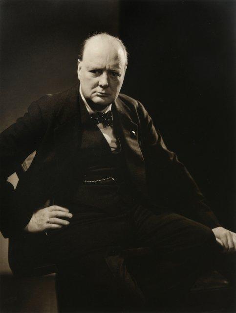 Winston Churchill, photographed for Vanity Fair in 1932, by Edward Steichen. (Photo by Edward Steichen/Beetles+Huxley & Osborne Samuel)