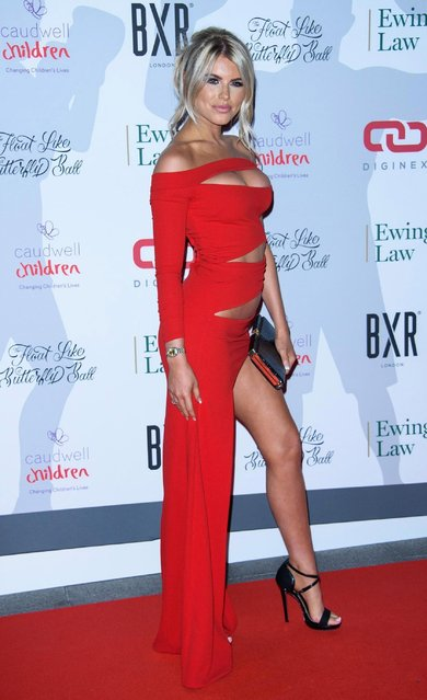 Hayley Hughes attends the 2018 Float Like A Butterfly Ball at The Grosvenor House Hotel on October 19, 2018 in London, England. (Photo by Joe Maher/Getty Images)