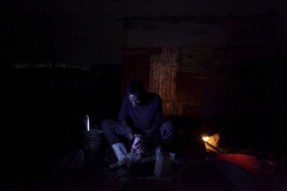 Inside a Haitian Slaughterhouse