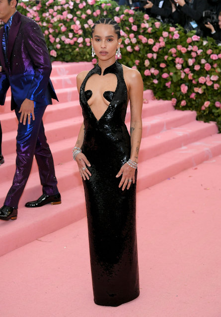 Zoe Kravitz attends The 2019 Met Gala Celebrating Camp: Notes on Fashion at Metropolitan Museum of Art on May 06, 2019 in New York City. (Photo by Neilson Barnard/Getty Images)