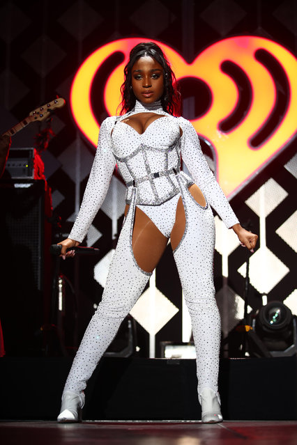 Normani performs onstage during 102.7 KIIS FM's Jingle Ball 2019 Presented by Capital One at the Forum on December 6, 2019 in Los Angeles, California. (Photo by Rich Fury/Getty Images for iHeartMedia)