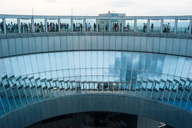 """My Japan"". Osaka, Umeda Sky Building. Photo location: Osaka, Japan. (Photo and caption by Sandro Tedde/National Geographic Photo Contest)"