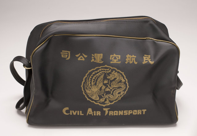 CAT travelers received flight bags as complementary gifts. Once a Chinese Nationalists Airline, was owned by the CIA for covert operations. Photo by Central Intelligence Agency)