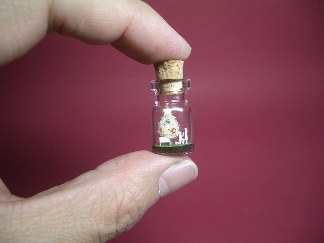 Tiny World In A Bottle