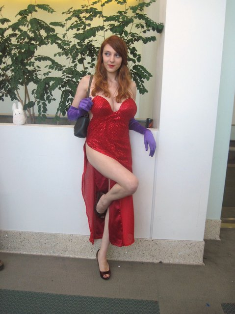 Jessica Rabbit. June 30, 2012 – during Anime Expo. (Photo by Jim61773)