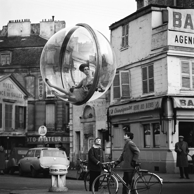 Bicycle Street, 1963, by Melvin Sokolsky. (Photo by Melvin Sokolsky/Beetles+Huxley & Osborne Samuel)