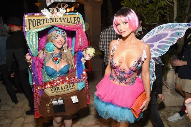 Producer Traci Szymanski and model Joanna Krupa attend the Casamigos Halloween Party at a private residence on October 28, 2016 in Beverly Hills, California. (Photo by Michael Kovac/Getty Images for Casamigos Tequila)