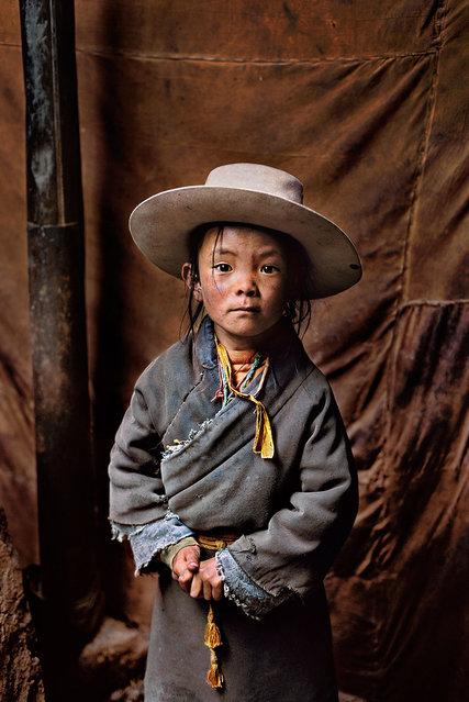 Tibet, 2002. (Photo by Steve McCurry)