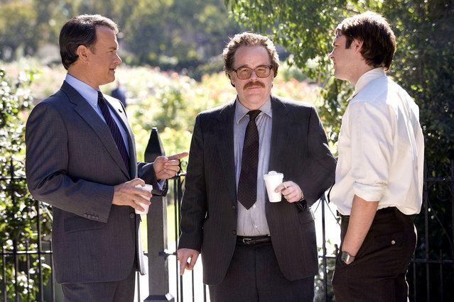 """Charlie Wilson's War"", Tom Hanks, Philip Seymour Hoffman, 2007. (Photo by Universal/Everett Collection)"