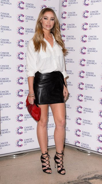 Lauren Pope attends James Ingham's Jog-On to Cancer part 5 at Kensington Roof Gardens on April 12, 2017 in London, England. (Photo by Beretta/Sims/Rex Features/Shutterstock)