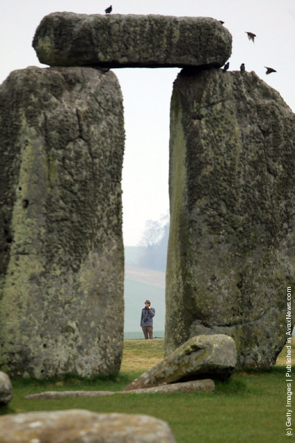 The ancient monument at Stonehenge