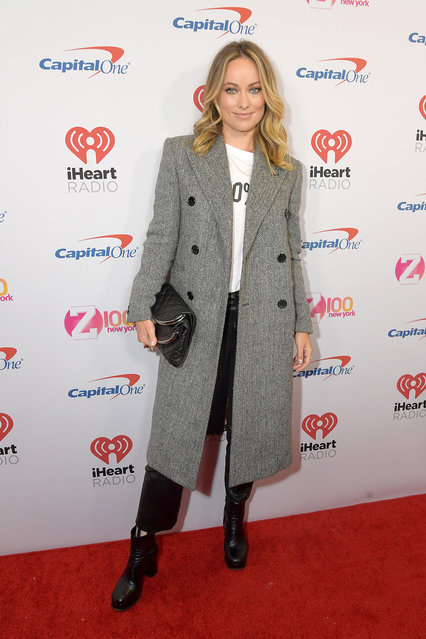Olivia Wilde arrives at iHeartRadio's Z100 Jingle Ball 2019 at Madison Square Garden on December 13, 2019 in New York City. (Photo by Michael Loccisano/Getty Images)