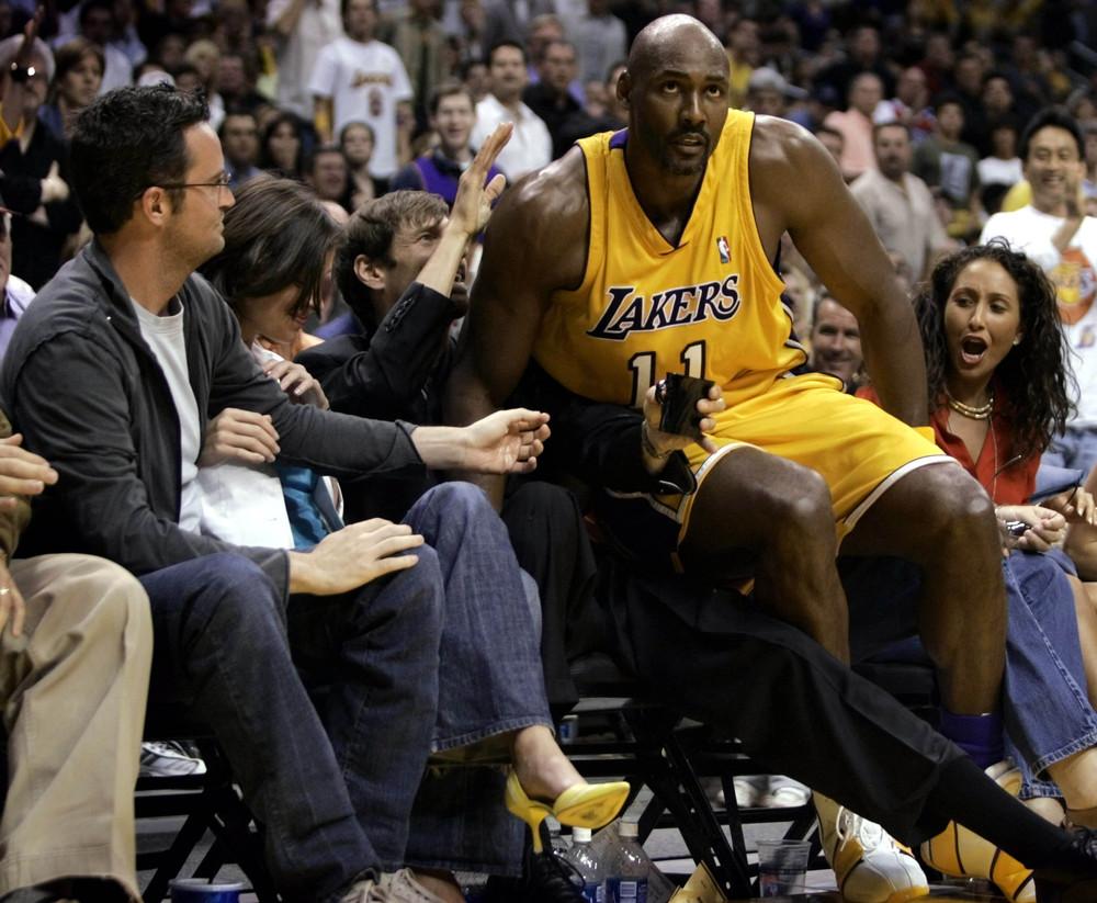 Celebrities at NBA Games