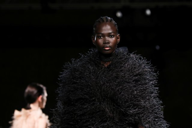 Models present creations from the Jason Wu Fall 2020 collection during New York Fashion Week in the Manhattan borough of New York, U.S., February 9, 2020. (Photo by Caitlin Ochs/Reuters)