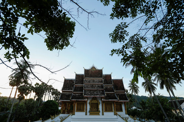 Haw Pha Bang Buddhist temple is seen in Luang Prabang, Laos July 31, 2016. (Photo by Jorge Silva/Reuters)