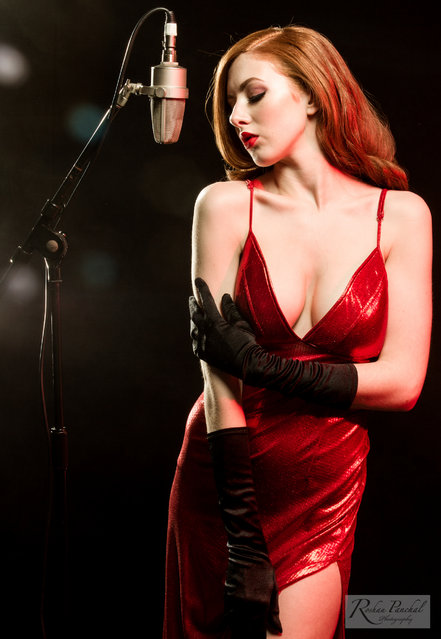 Jessica Rabbit. Model – Sophie. (Photo by Roshan Panchal)