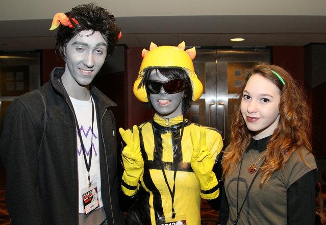 Anime fans visited the Hyatt Regency Milwaukee on the weekend of Feb. 15-17 for Anime Milwaukee 2013