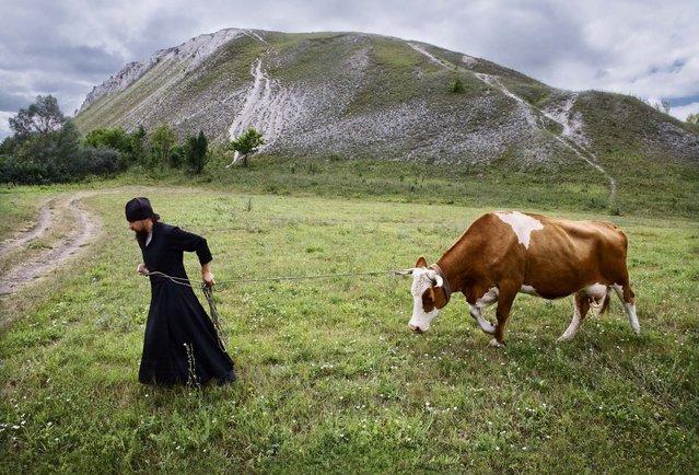 """Monastic everyday life"". (Photo by Sergej Smirnov)"