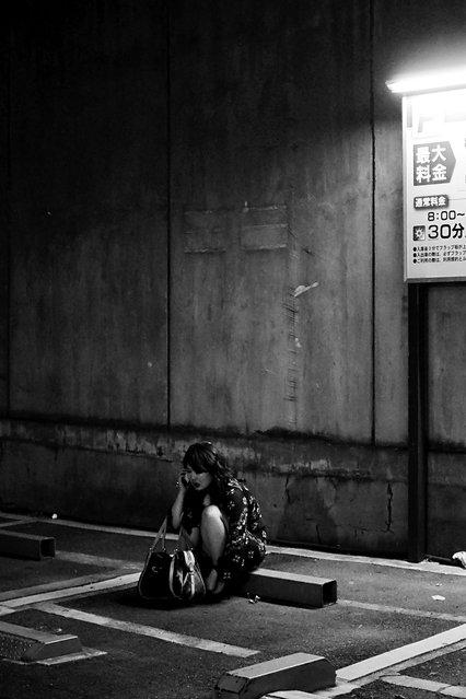 """30 minutes, 400 Japanese Yen"". Akasaka, 2012. (Davide Filippini)"