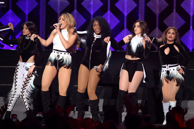 Fifth Harmony perform at Z100's Jingle Ball in Manhattan, New York, U.S., December 9, 2016. (Photo by Andrew Kelly/Reuters)