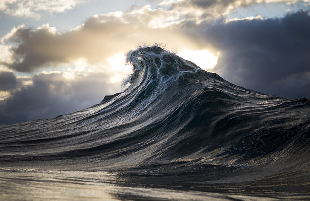 """Mountainous Waves"". (Photo by Ray Collins)"