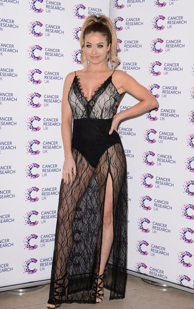 Jess Impalazzi attends James Ingham's Jog-On to Cancer part 5 at Kensington Roof Gardens on April 12, 2017 in London, England. (Photo by Beretta/Sims/Rex Features/Shutterstock)