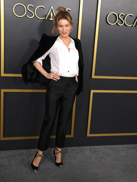 Renée Zellweger arrives at the 92nd Oscars Nominees Luncheon on January 27, 2020 in Hollywood, California. (Photo by Steve Granitz/WireImage)
