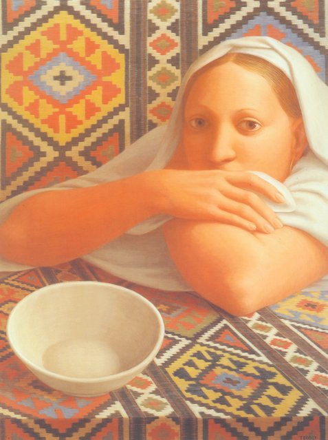 Odalisque. Artwork by George Tooker