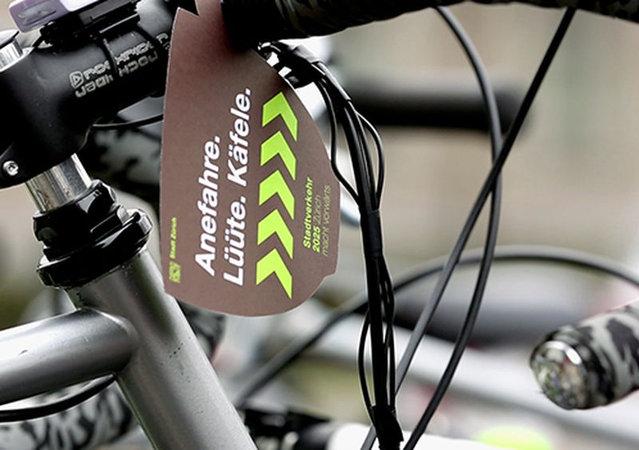 Bicycle Cafe In Zurich, Switzerland