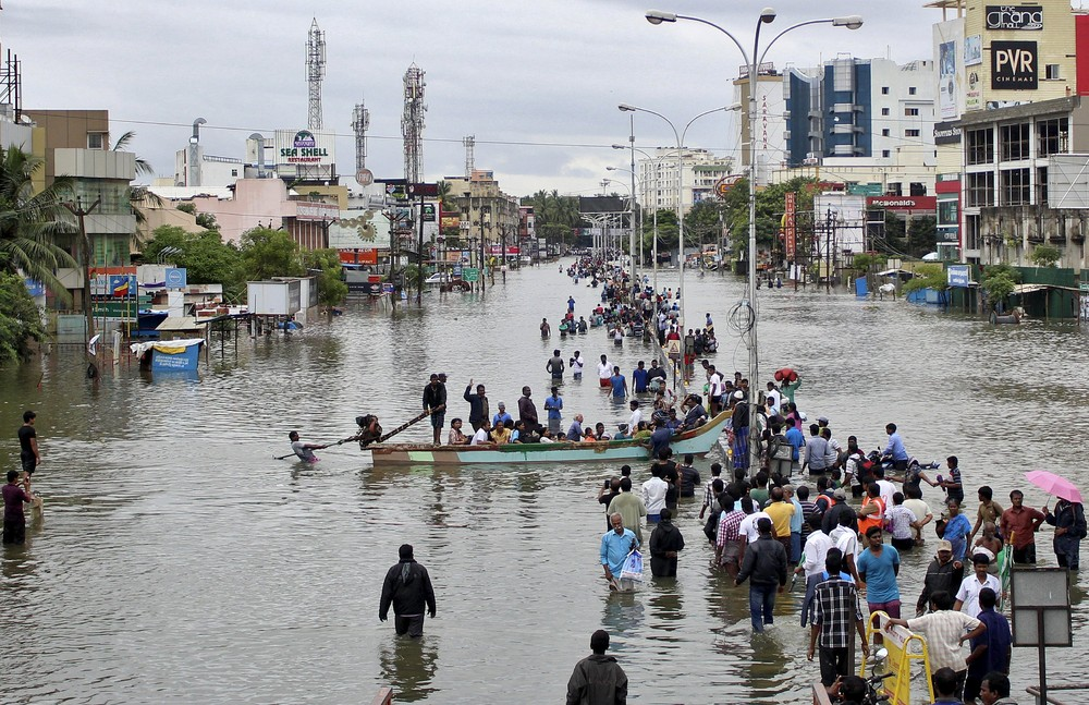 The Heaviest Rainfall in a Century in India
