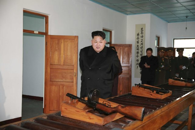 North Korean leader Kim Jong Un visits the Phyongchon Revolutionary Site, in this undated photo released by North Korea's Korean Central News Agency (KCNA) in Pyongyang December 10, 2015. (Photo by Reuters/KCNA)