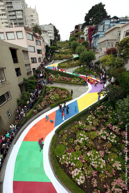 Lombard Street: The Crookedest Street In The World