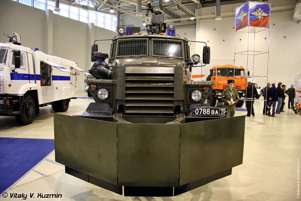 Interpolitex 2011 - Military/Police vehicles