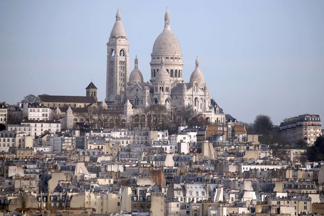 General view of the Sacre Coeur Basilica on Montmartre in Paris, France, January 13, 2016. (Photo by Charles Platiau/Reuters)
