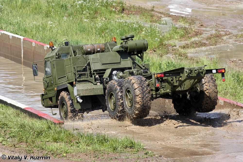 Russian Military Vehicles. Part I