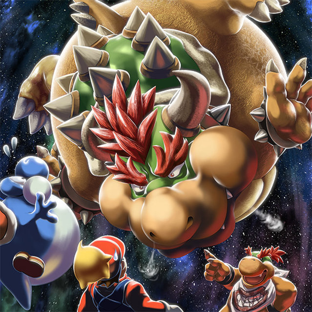 Bowser by MasaBowser