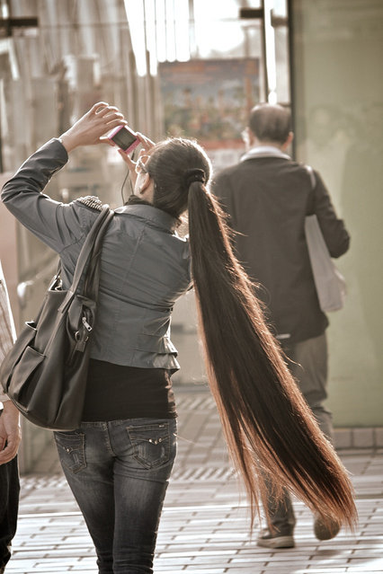 A long ponytail. (Photo by K.S. Skaalrud)