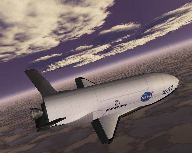 The Boeing X-37 Orbital Test Vehicle, an unmanned reusable spacecraft. (Photo by Reuters/NASA)