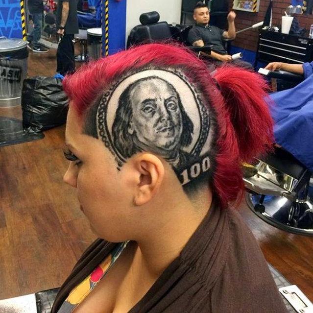 Realistic Hair Art By Roberto Perez Part 1
