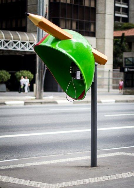Work: For Now! Artist: Los Paoliello – Julia / Ricardo Address: Avenida Paulista, 1294