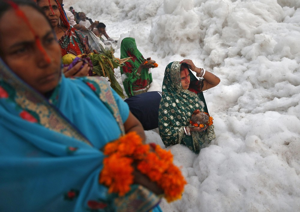 Hindu Religious Festival of Chatt Puja