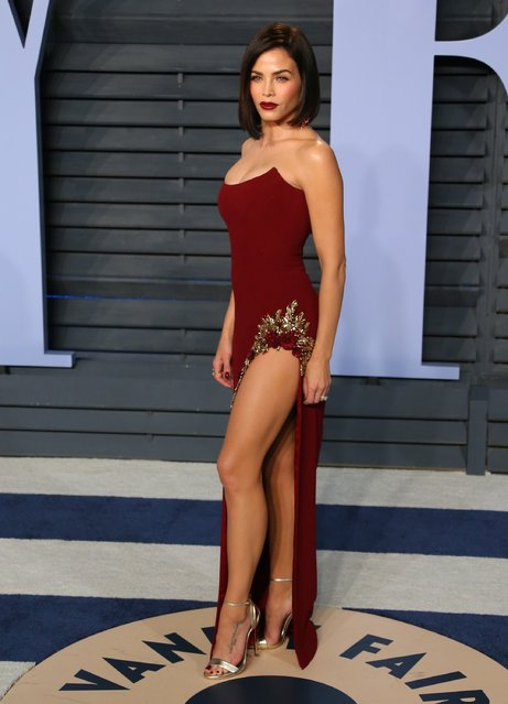 Jenna Dewan Tatum attends the 2018 Vanity Fair Oscar Party following the 90th Academy Awards at The Wallis Annenberg Center for the Performing Arts in Beverly Hills, California, on March 4, 2018. (Photo by Jean-Baptiste Lacroix/AFP Photo)