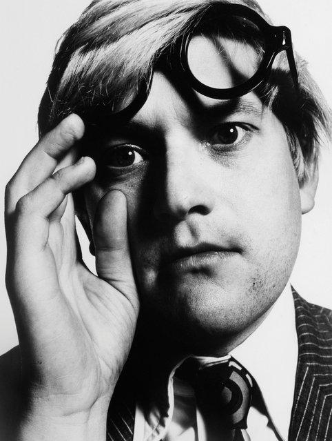 David Hockney, 1965, by David Bailey. (Photo by David Bailey/Beetles+Huxley & Osborne Samuel)
