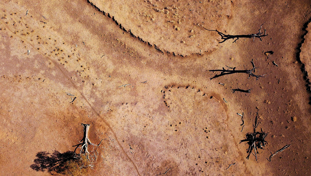 Australian Drought from Above