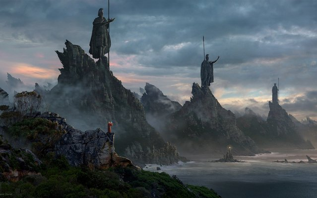 Fantasy  Scenery  By Sarel Theron