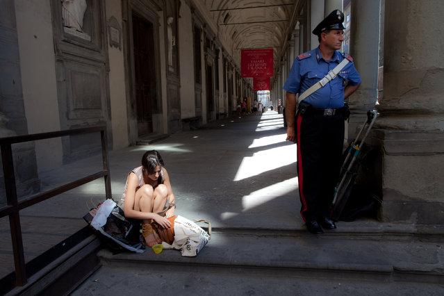 """""""Esposti. San Niccolo, Florence, 2011"""". (Photo by Olav Njaastad)"""